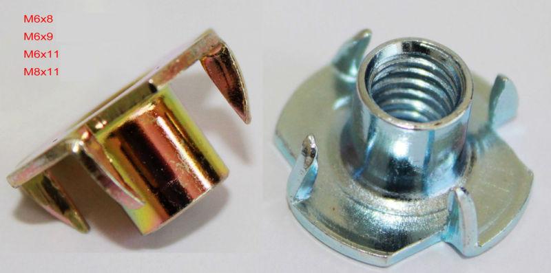 DIN1624 M3 to M16 Galvanized Steel T Nut