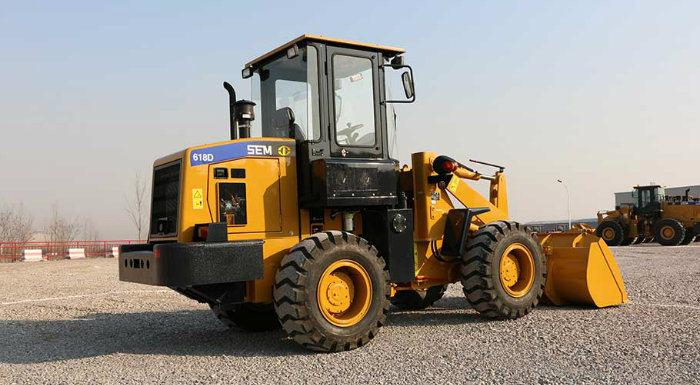 Caterpillar Machine Bucket 1m3 Wheel Loader Sem618d for Brazil