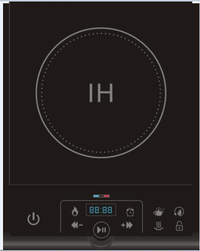 ETL Approval Single Burner Hot Sell Induction Cooktop