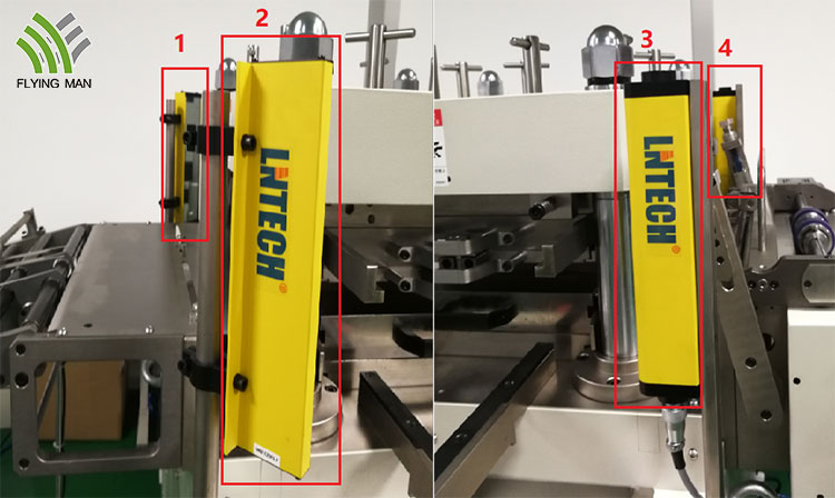flat bed die cutter for label