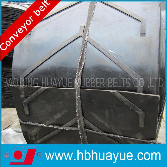 Chevron Pattern Rubber Conveyor Belts (width400-2200) Strength100-5400n/mm