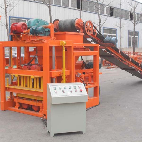 Qtj4-26c Automatic Cement Block Shaping Machine