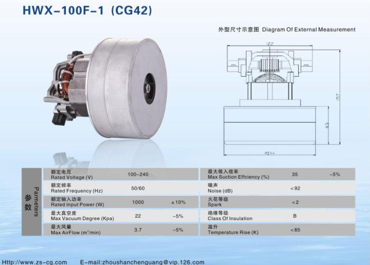 ac electric 2 fans 1000w motor