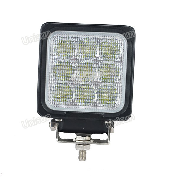 New Square 4inch 27W LED Mining Work Lamp
