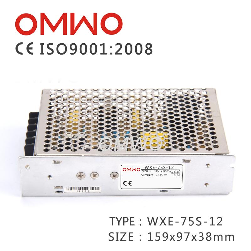 AC/DC Power Supply Wxe-75s-24 Switch Mode Power Supply