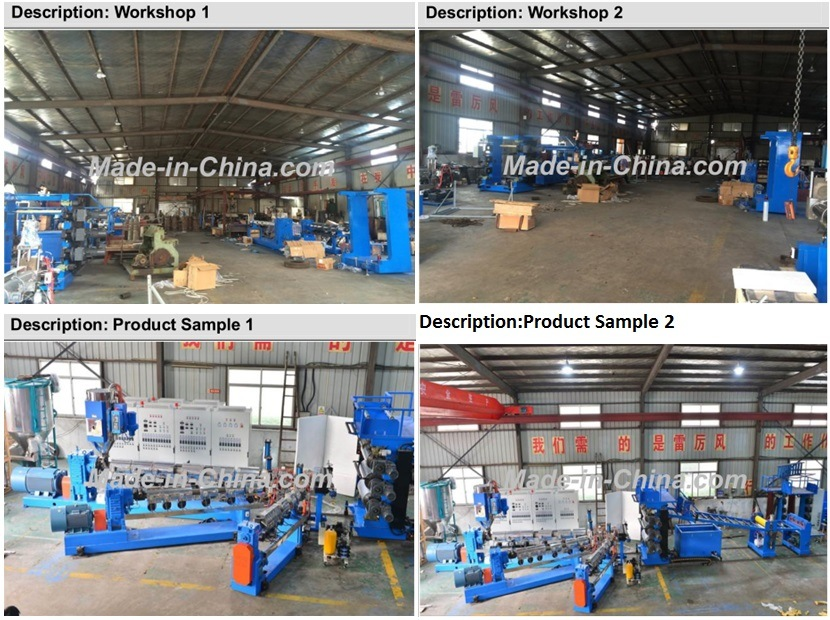 High Speed PC Single Screw Plastic Extrusion Line for Luggage Making Machine