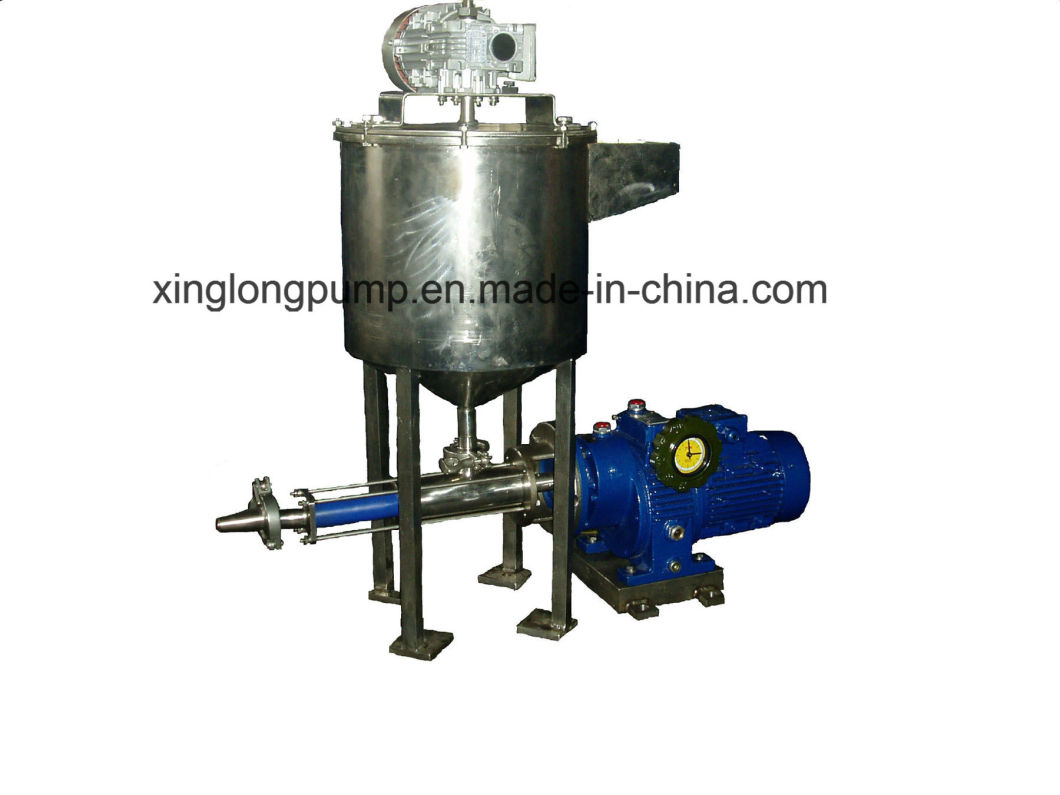 Micro Metering Single Screw Pump