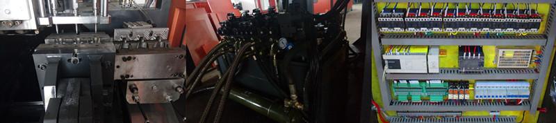 HDPE Bottle Hydraulic Extrusion Plastic Blow Molding Machine