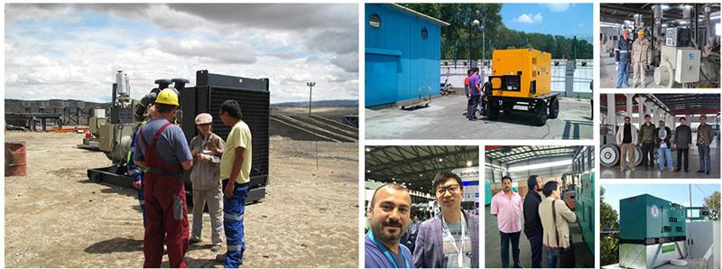 Weichai 100kw/125kVA Diesel Generator Set by Chinese Power Plant