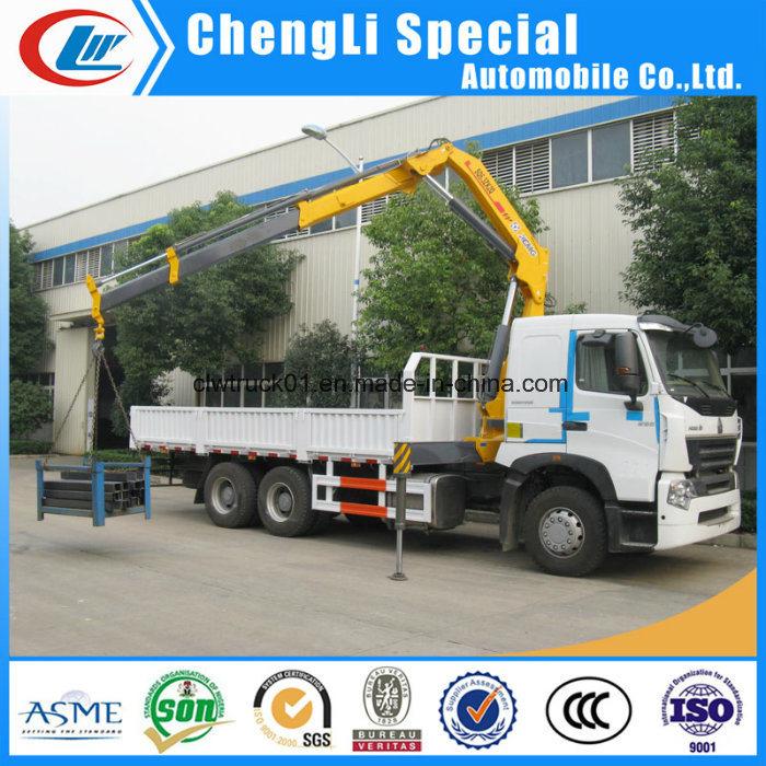 Telescopic Boom 16 Ton Lorry Mounted Construction Truck Crane
