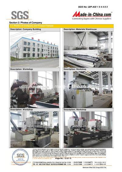 Reinforced Louver Components Aluminium Shutter Window (TS-1134)