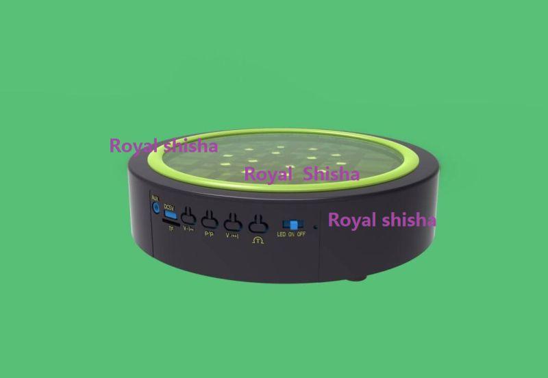 New Design 7 Inch Bluetooth Rechargeable Shisha Hookah Music LED