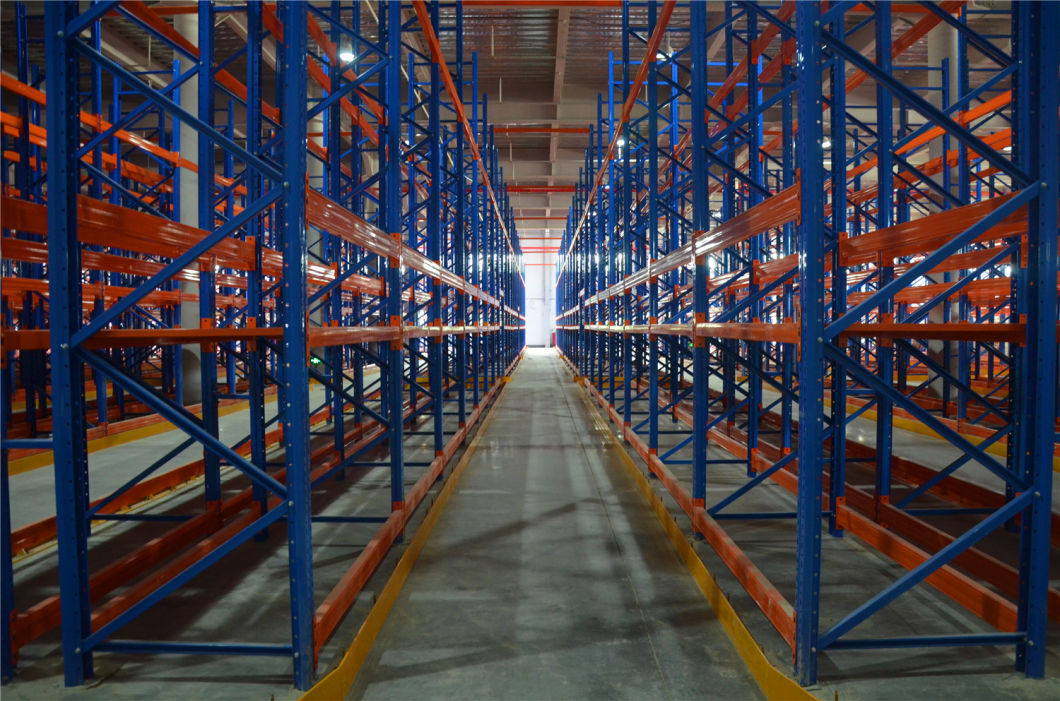 Heavy Duty Warehouse Storage Vna Steel Pallet Rack System