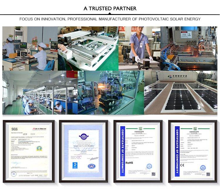 160W Solar Panel Price Good Quality and Popular Size (SGM-160W)