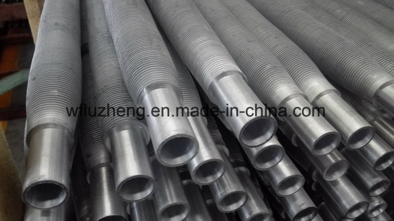 Carbon Steel or Stainless Steel Finned Tube Pipe, Kl G Ll Spiral Aluminum Fin Tube
