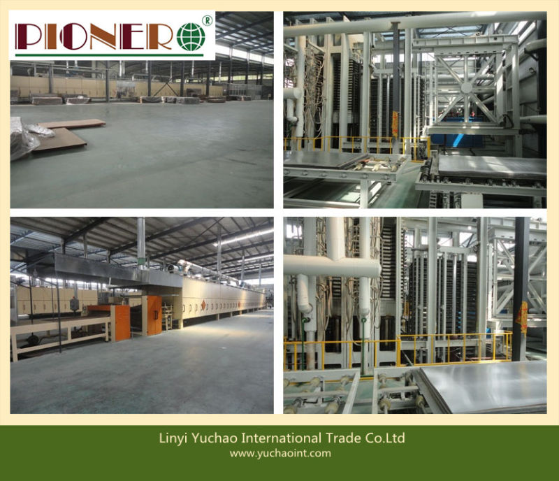 Red Face BB/CC Grade Commercial Plywood for Middle East Market