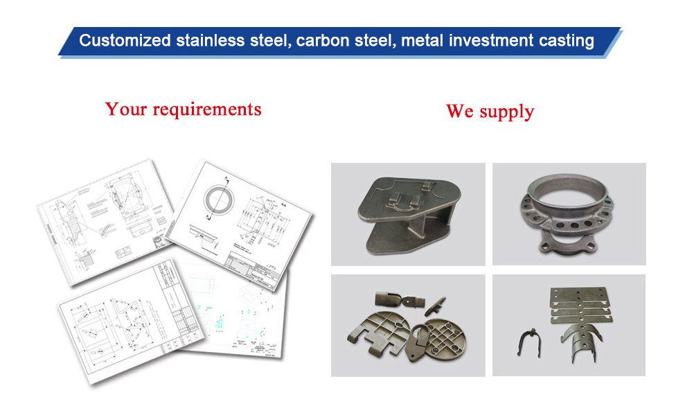 investment casting lost wax foundry China company