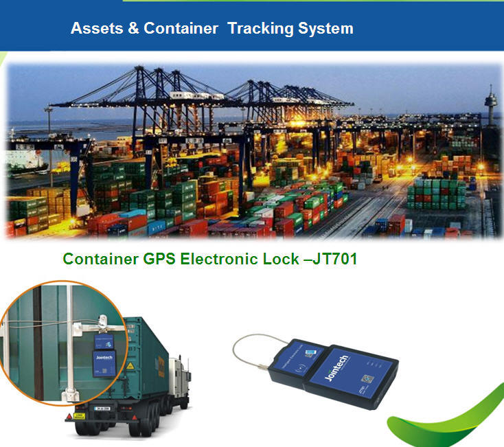 Smart Satelital Lock / Container Cargo Seal for Container Monitoring