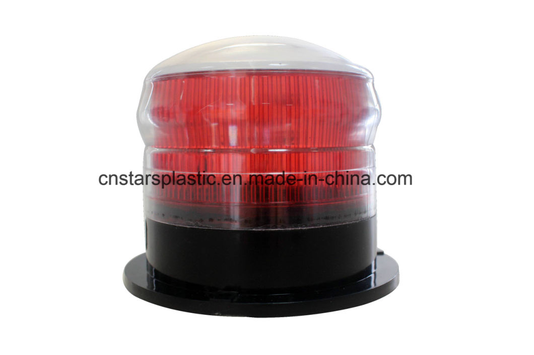 LED Rotating Flashing Solar Beacon Light with Magnet