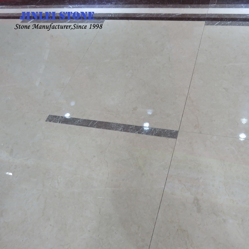 Natural Polished Cream Ultraman/Ottoman Beige Marbles for Floor/Wall Tiles