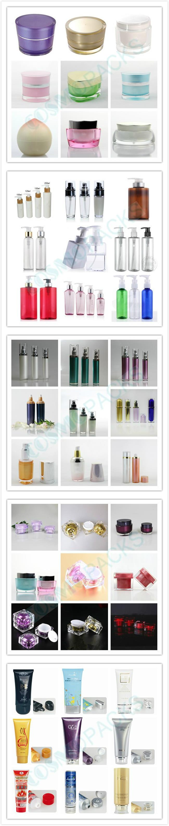30ml 50ml 30g Frosted Glass Jar Travel Cosmetic Bottle Set Dropper Bottle
