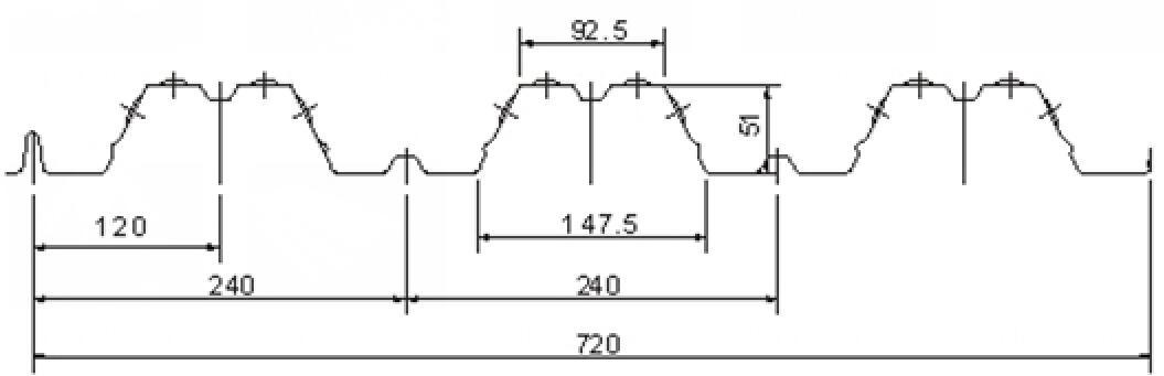 Floor Deck Galvanized Metal Sheet Structure Steel Flooring