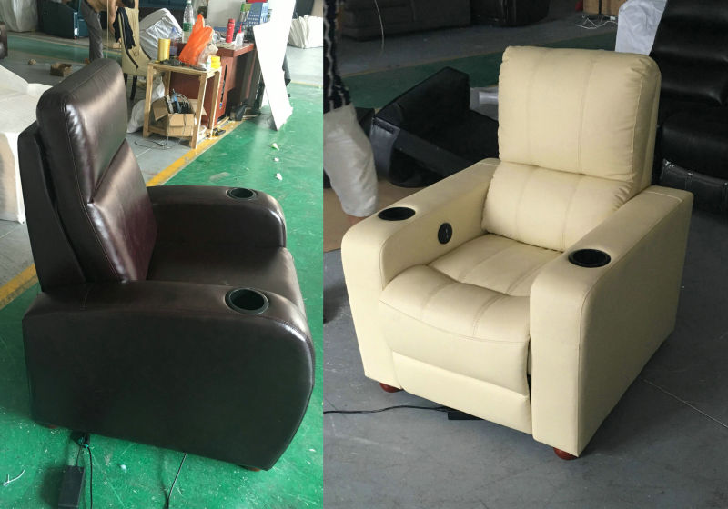 Single Seater Living Room Furniture Recliner Chair (K11)