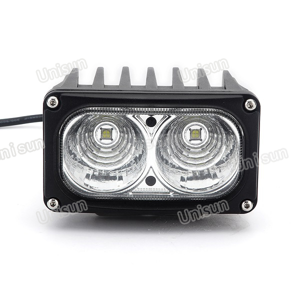 6inch 24V 30W Rectangle Heavy Duty LED Truck Light