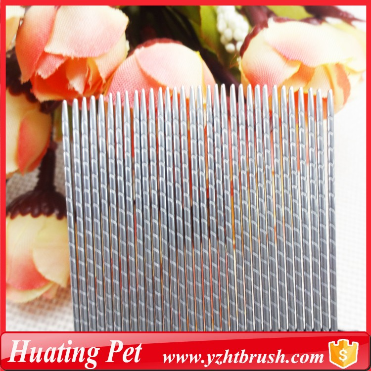 Three strips stainless steel lice comb