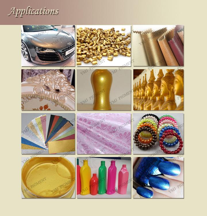 Mica Titanium Dioxide Pearl Pigment Powder/Pearlescent Pigment