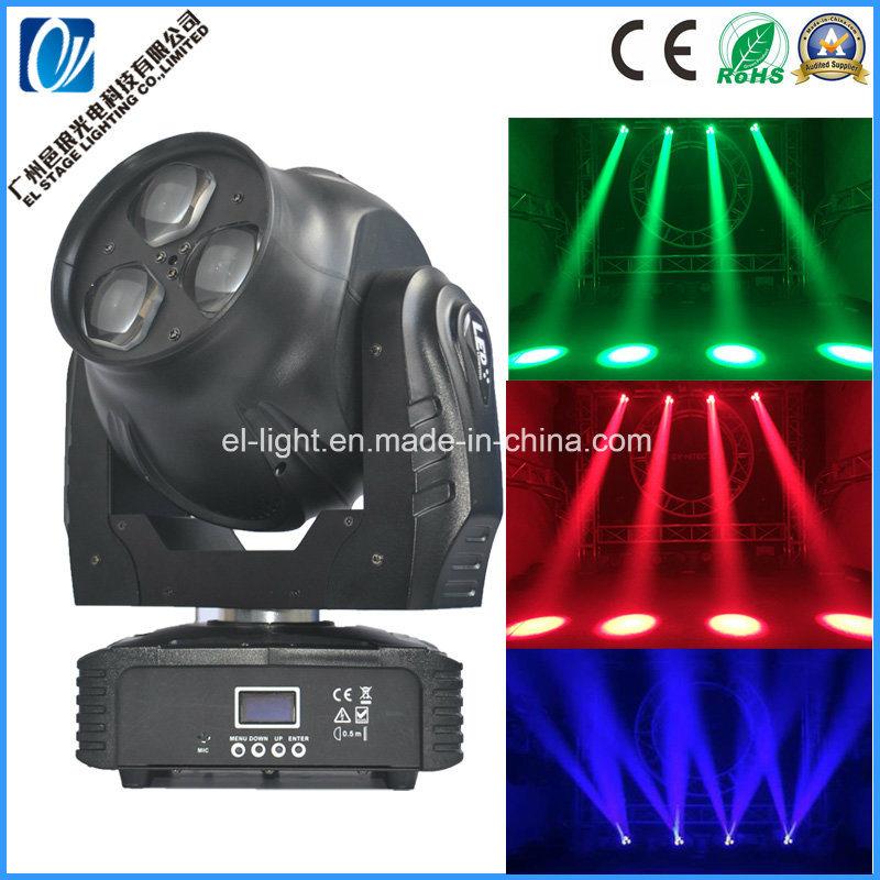 Mini Super Bright LED 3*40W Wash Beam Moving Head Light