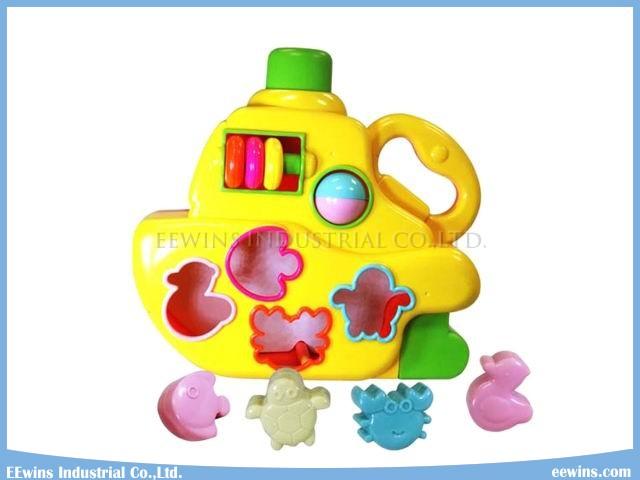 Puzzle Blocks Toys Ship Education Toys
