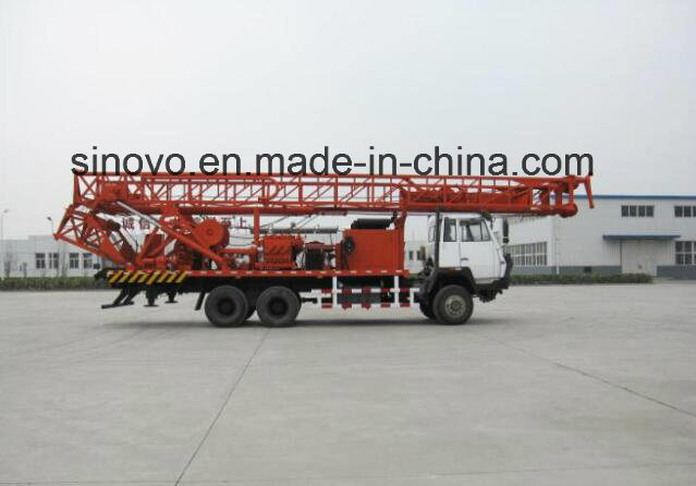 1000m depth water well drilling rig mounted on the STEYR brand truck