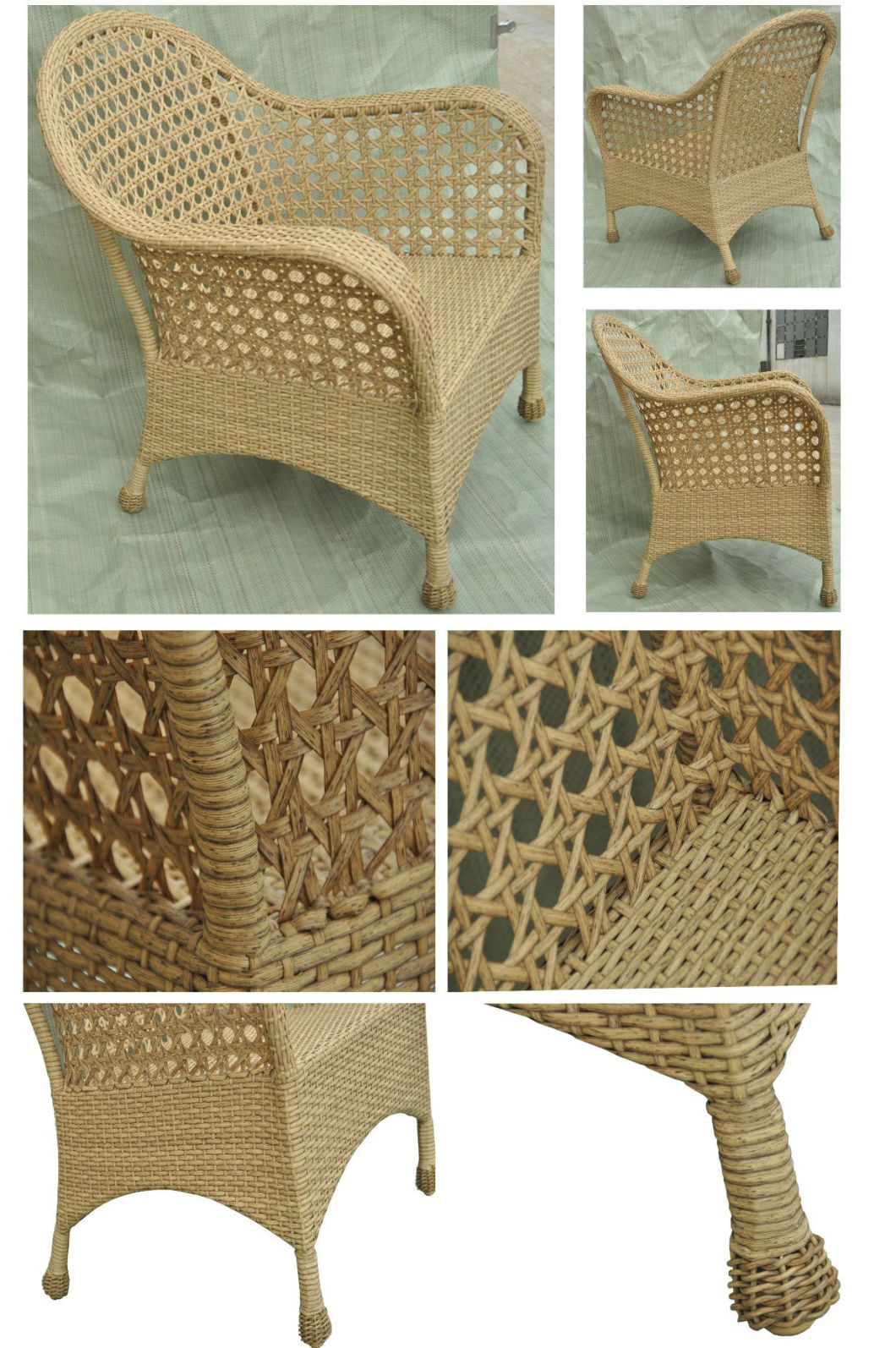 Leisure Outdoor Furniture Rattan/Wicker Chair Garden Furniture Patio Chair