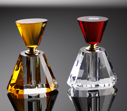 Clear Crystal Perfume Bottle (JD-XSP-541)
