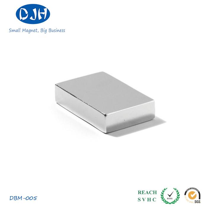 50*30*8mm N42 Rare Earth Materials NdFeB Magnet