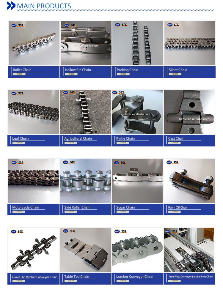 24bh Short Pitch Transmission Precision Roller Chains B Series Simplex
