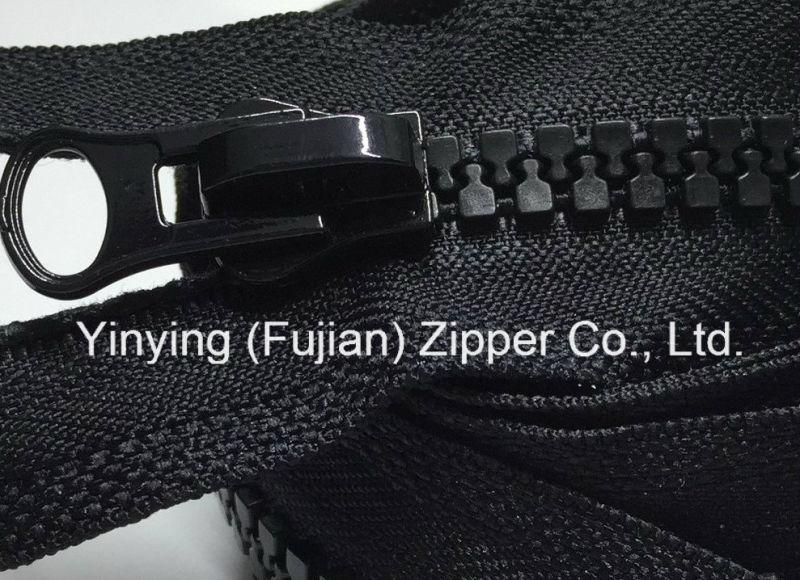 Plastic Zipper with Regular Teeth