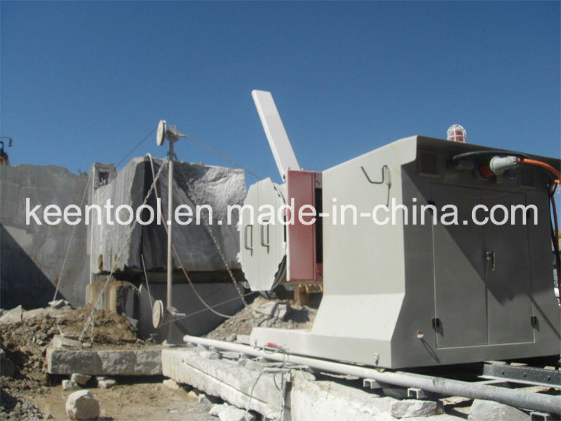 55kws/ 75HP Wire Saw Machine for Granite Marble Sandstone Onyx Travertine Stone Quarrying