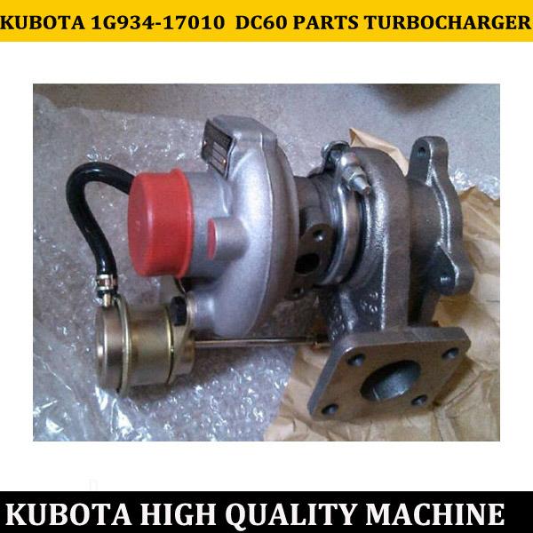 Kubota 1g934-17010 DC60 Parts Turbocharger