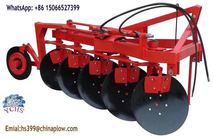 China Supplier Hydraulic Double Way Disc Plough for Tractor