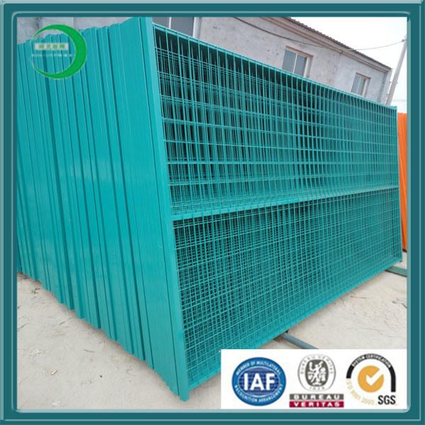 Temporary Construction Fence---PVC Coated