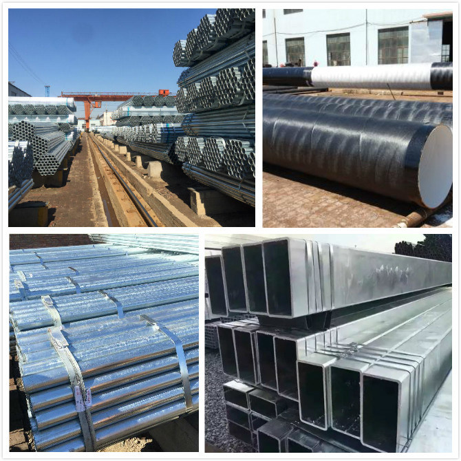 Hot Sale BS1387 Gal Galvanized Square Steel Pipe Tube