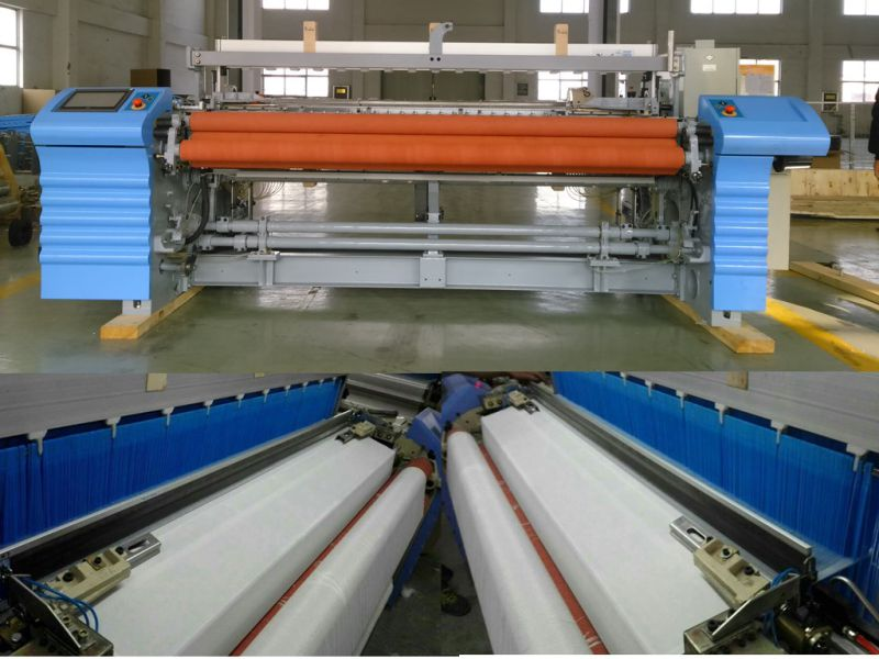 Advanced High Speed Cheap Simple Cotton Fabric Weaving Air Jet Loom