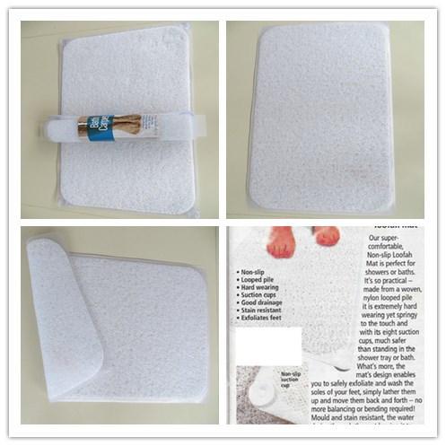 Europe Market Bath Mat PVC Non-Slip Floor Mat