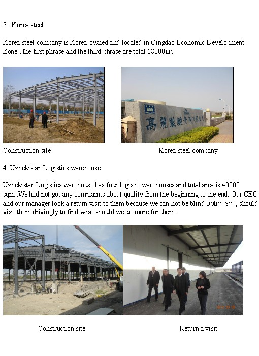 Prefabricated Metal Structure Shed (KXD-SSB1357)