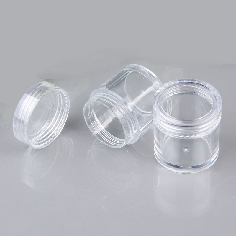 Most Popular Plastic Cosmetic Jars From China Factory (NJ18)