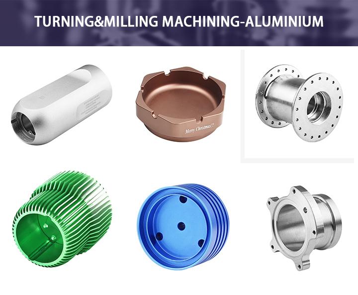 Metal Aluminum CNC Machining Auto Electric Turning Parts