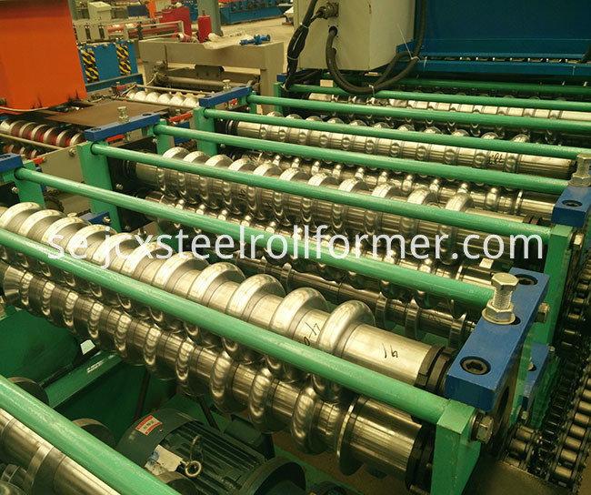 Ibr Trapezoidal Roof Sheet Roll Forming Machine
