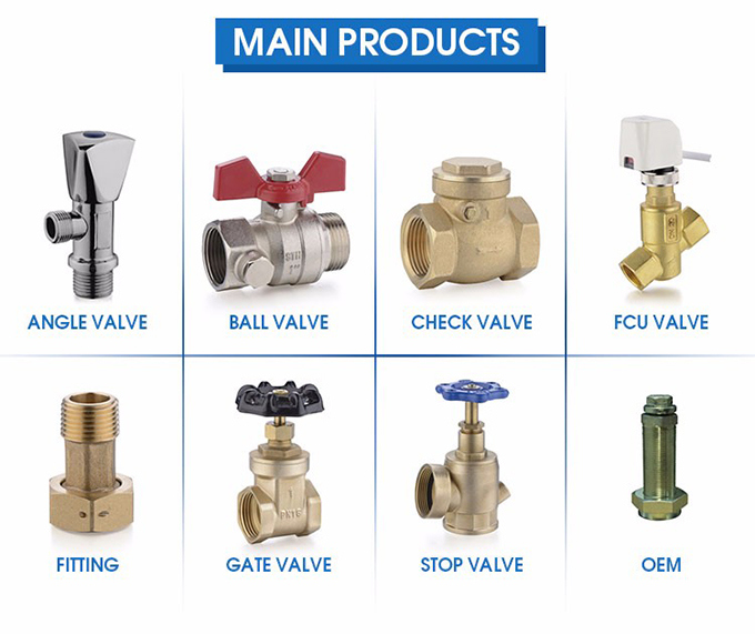 High Performance Angle Stop Valve for Water